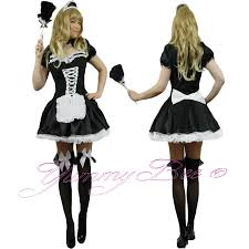 yummy bee french maid fancy dress costume plus size