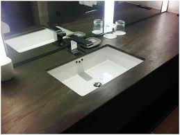 bathroom glass bathroom sinks concrete sink and brushed steel