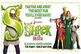 shrek the musical blackpool the beaucliffe