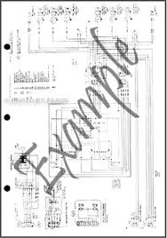 1970 ford b and f100 f750 series foldout wiring diagram