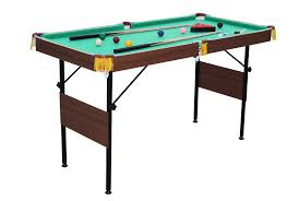 Table With Folding Legs Air King 54 Inch Pool Table With Folding Legs
