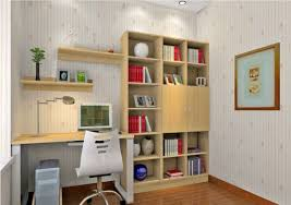 Small Desk Bedroom Pleasant Student Desk Bedroom Ideas With Open Wall Shelves And