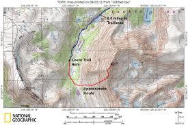 Colorado 14er Map by Kneeknocker Pass East Side Descent 14ers Com