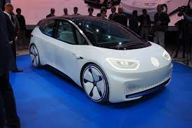 volkswagen electric concept volkswagen i d concept promises up to 370 miles of all electric