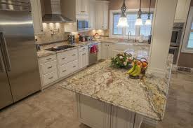 Granite Kitchen Countertops Pictures by Top 5 Light Color Granite Countertops