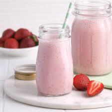 cuisine aux fraises smoothie fraises bananes recettes cuisine et nutrition