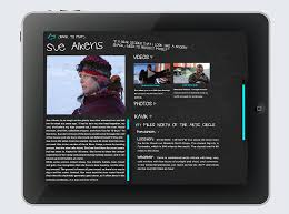 quote layout app matt czarnecki life below zero app design