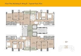 Serenity Floor Plan Kalpataru Serenity Manjri Pune