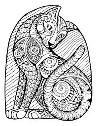 coloring pages cats 3 2 coloring pages pinterest