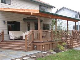 home design partially covered deck designs victorian expansive