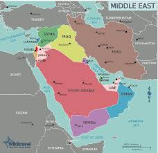 The Middle East Map by The Middle East Architecture Revolution Human Response And