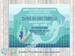 mermaid baby shower create own mermaid baby shower invitations printable egreeting