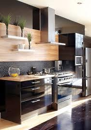 cuisine mur noir trucs déco la magie du noir kitchen collection kitchens and