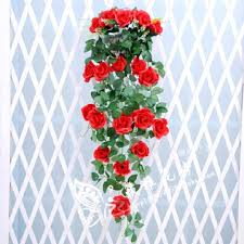 plastic flowers usd 8 33 simulation chlorophytum basket flower artificial