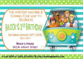 birthday invites astounding scooby doo birthday invitations