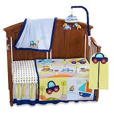 lambs u0026 ivy little travelers 7 piece crib bedding set and
