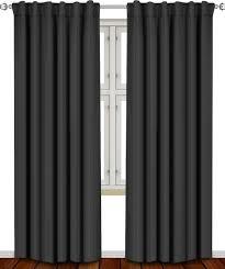 Heat Blocking Curtains Amazon Com Blackout Room Darkening Curtains Window Panel Drapes