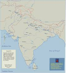 Map Of India Cities Historical Maps Of Asia By John C Huntington
