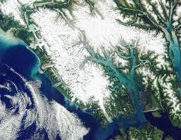 Satellite Map Usa Maps Glacier Bay National Park U0026 Preserve U S National Park