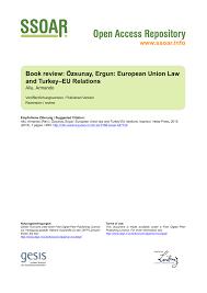si e de r nion özsunay ergun european union and pdf available
