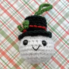 10 cute free christmas ornament crochet patterns crochet