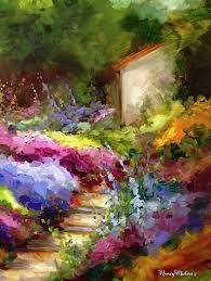 1506 best cottage garden and landscape art images on pinterest