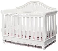 4 In 1 Convertible Crib White Disney Princess Magical Dreams 4 In 1 Convertible Crib By Delta