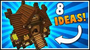 8 beautiful house designs u0026 ideas minecraft announcement