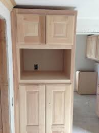 Kitchen Pantries Cabinets Fancy Double White Color Wooden Kitchen Pantry Cabinets Featuring