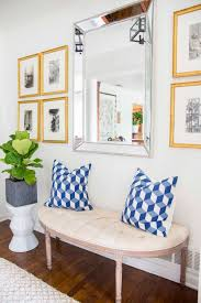 Blue Entryway Table by First Impressions A New Entryway Design Thou Swell