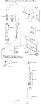 kohler kitchen faucet parts diagram kohler kitchen faucet repair diagram best faucets decoration