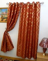 curtains rust colored curtains designs orange curtains rust