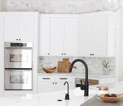 what to look for in a kitchen faucet black a look at black faucets becki owens faucet