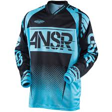 answer motocross gear answer racing jersey syncron black blue 2017 maciag offroad