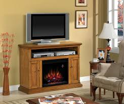 cannes antique oak entertainment center electric fireplace