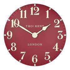 designer kitchen wall clocks thomas kent clocks wall u0026 mantel clocks red candy