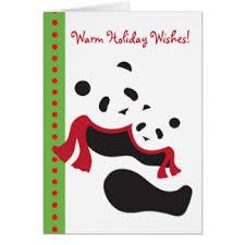 panda note cards zazzle co uk