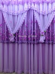 Sheer Purple Curtains by Deep Purple Curtains Set The Individual Character Of Your Room