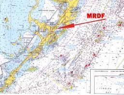 Map Of The Florida Keys by Mrdf Facility