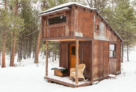 Tiny House Cabin by Charles Finn U0027s Tiny Cabins Woodz