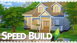 Family Home The Sims 4 Speed Build Suburban Family Home Part 1 Youtube
