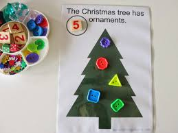 At Home Christmas Trees by Learn With Play At Home Christmas Tree Play Mat Free Printable