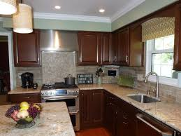 Faux Brick Kitchen Backsplash by Brick Veneer Backsplash Kitchen Nice Brick Backsplash In