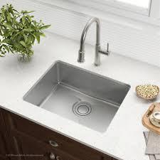 kraus kd1us25b 25 inch undermount single bowl kitchen sink with