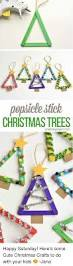 popsicle stick christmas trees happy saturday here u0027s some cute