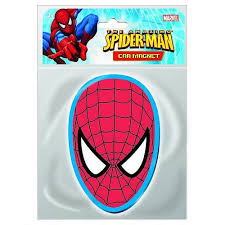 spider man head car magnet monogram spider man magnets