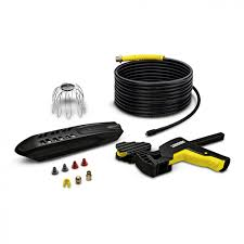 professional window cleaning equipment roof gutter and pipe cleaning set kärcher uk