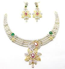 earring necklace sets images Ad necklace set and earring ps 97 online shopping price in jpg