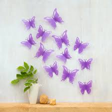 wall decor butterflies home decoration for interior design styles