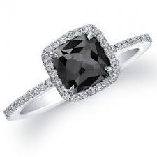 white and black diamond engagement rings best 25 black diamond engagement ideas on black